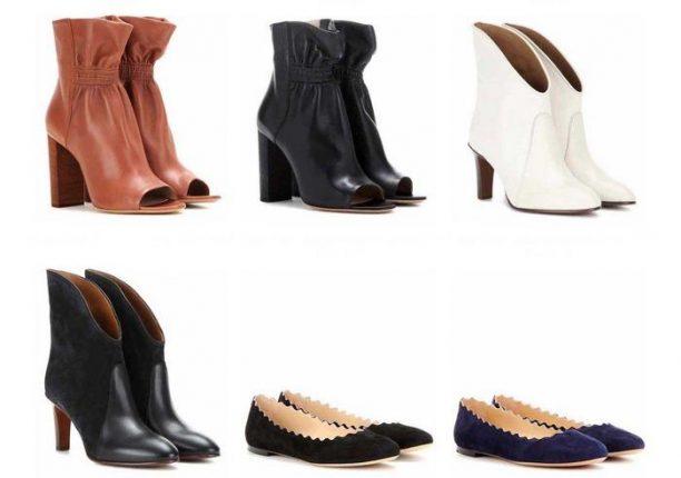 Chloè scarpe collezione autunno inverno 2016 2017