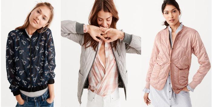 Abercrombie Fitch giubbini e giacche