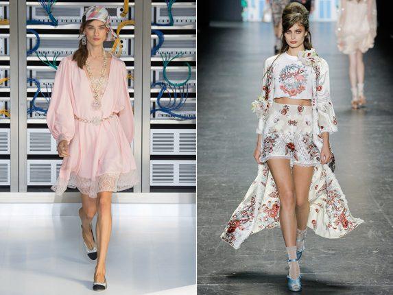 Abiti pigiama Chanel Anna Sui