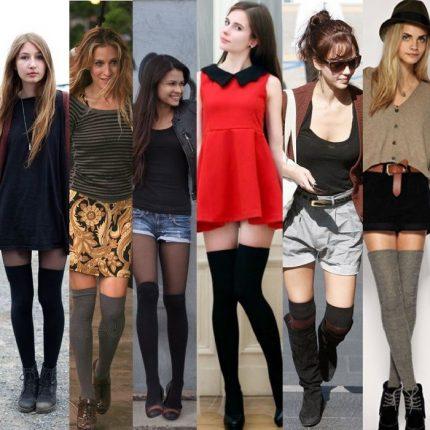 Come indossare le calze parigine