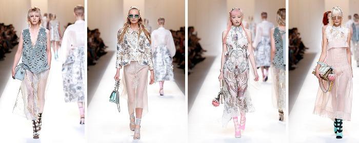 Fendi abbigliamento catalogo Primavera Estate 2017