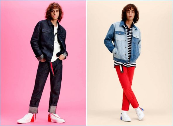 Hilfiger Denim felpe Primavera Estate 2017 jeans
