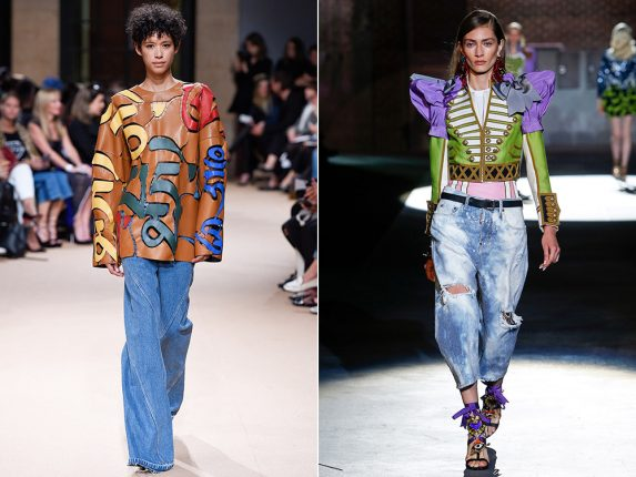 Jeans oversize Esteban Cortazar Dsquared2