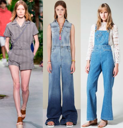 Jumpsuits 2017 Lacoste Red Valentino Sea