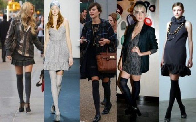 Le calze parigine look da copiare