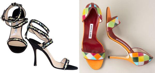 Manolo Blahník shoes