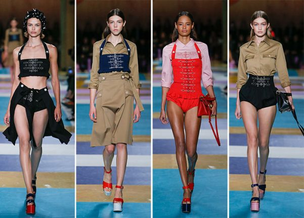 Miu Miu moda abbigliamento ed accessori catalogo Primavera Estate 2017