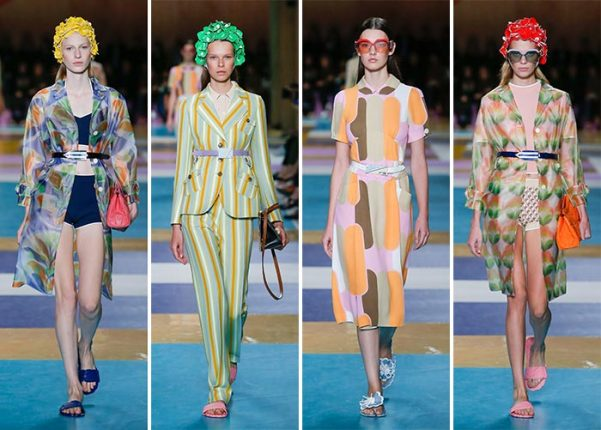 Miu Miu nuova collezione moda abbigliamento ed accessori catalogo Primavera Estate 2017
