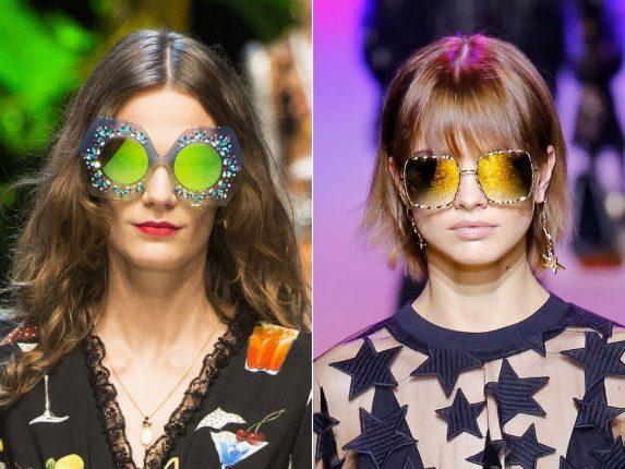 Occhiali con lenti colorate Dolce Gabbana Elie Saab