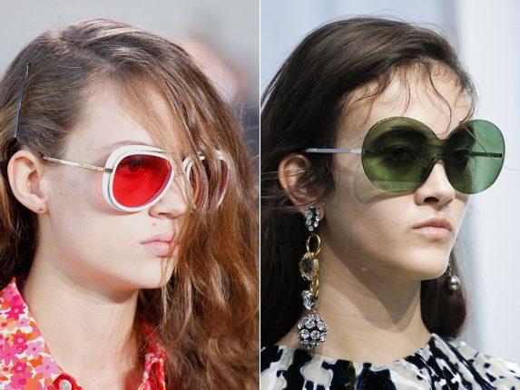 Occhiali con lenti colorate Michael Kors Marni