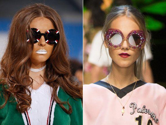 Occhiali rotondi Thom Browne Dolce Gabbana