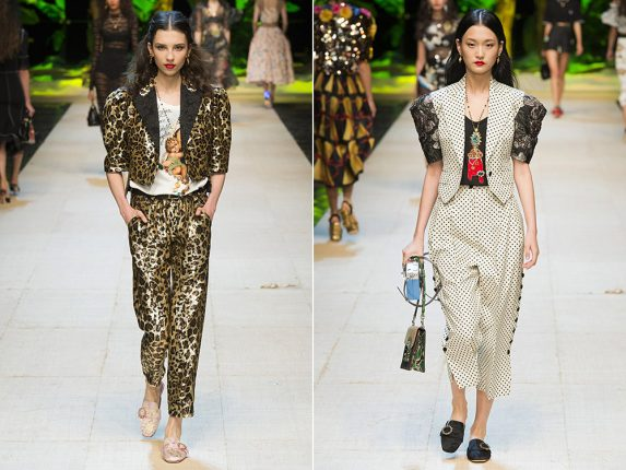 Tailleur con pantalone Dolce Gabbana