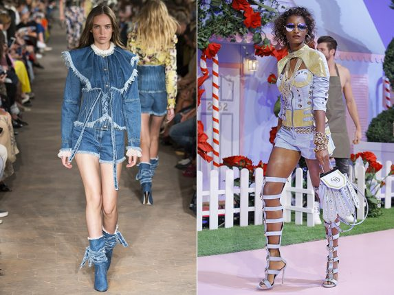 Total look denim Philosophy Philipp Plein