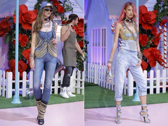 Tute e salopet jeans Philipp Plein