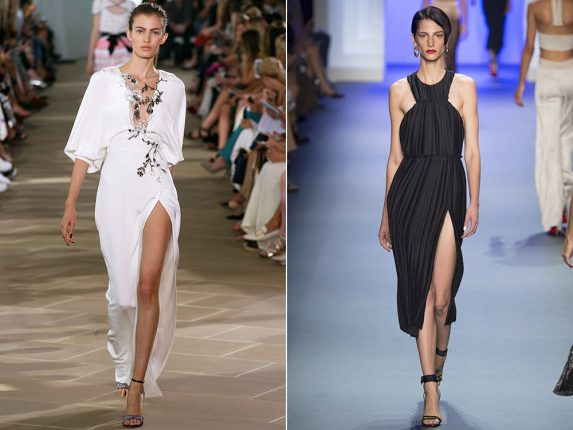 Vestiti con spacchi Monique lhuillier Cushnie et Ochs