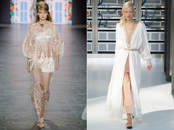 Vestiti vestaglia Anna Sui Chanel