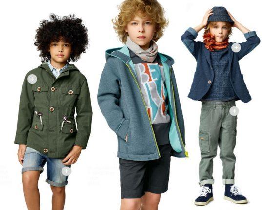 Benetton primavera estate 2017 abigliamento bambini