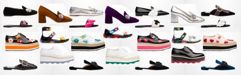 Prada scarpe donna primavera estate 2017