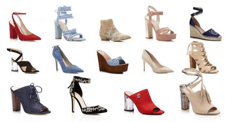 Scarpe Guess primavera estate 2017
