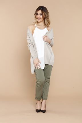 Pantaloni E Top Assimetrico Coconuda