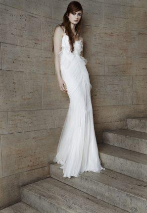 Abito da sposa alla greca Vera Wang 2015