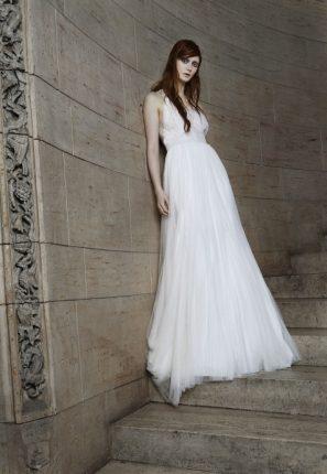 Abito sposa elegante alla greca Vera Wang 2015