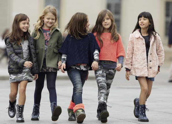 Abbigliamento bambini Benetton autunno inverno 2013 2014