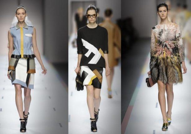 Abbigliamento Fendi primavera estate 2013