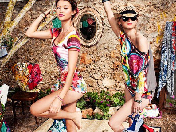 Abbigliamento mare Desigual Primavera Estate 2013