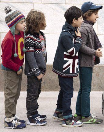 Abbigliamento scuola bambini Benetton autunno inverno 2013 2014