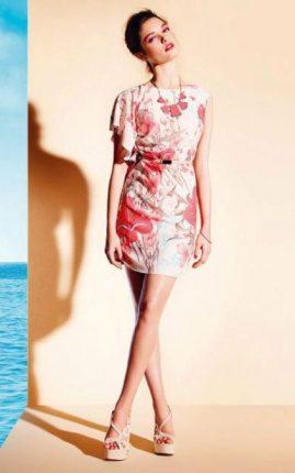 Abito-stampa-floreale-Motivi-collezione-primavera-estate-2013