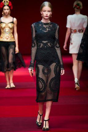 Abito da sera Dolce & Gabbana primavera estate 2015