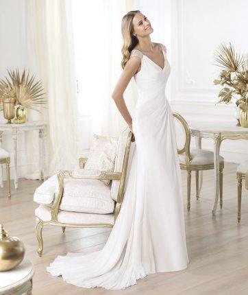 Abito da sposa collezione Pronovias mod Lali