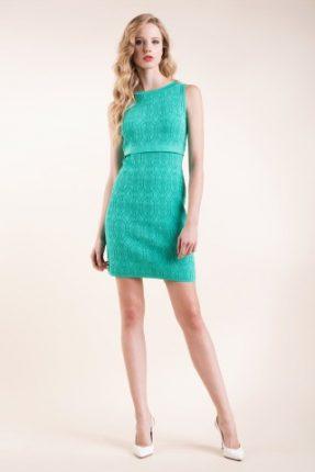 Abito in maglia verde Luisa Spagnoli primavera estate