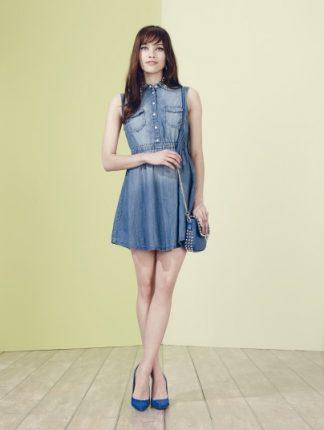 Abito jeans Motivi primavera estate 2014