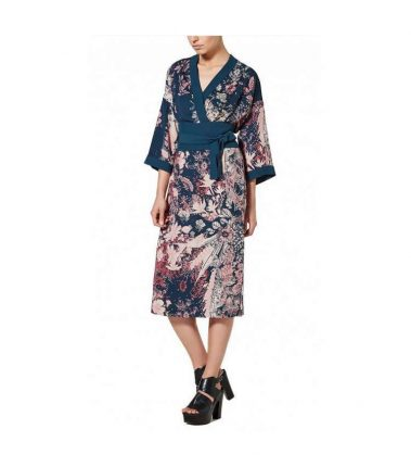 Abito kimono Sisley autunno inverno 2017