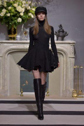 Abito nero H & M autunno inverno 2013 2014