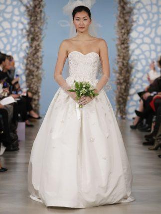 Abito per matrimonio Oscar de la Renta 2014