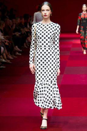 Abito pois Dolce & Gabbana primavera estate 2015