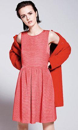 Abito rosso Max & Co autunno inverno 2015