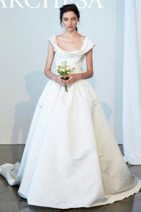 Abito sposa con strasico Marchesa 2015