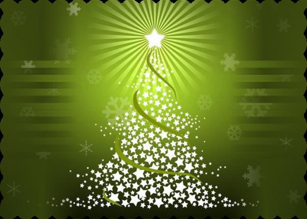 Albero di Natale con le stelline