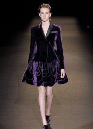 Alberta Ferretti collezione autunno inverno 2013 2014 gonna giacca