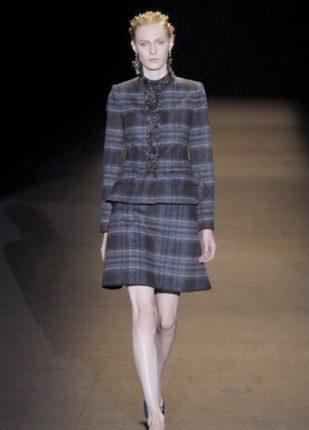 Alberta Ferretti collezione autunno inverno 2013 2014 tailleur