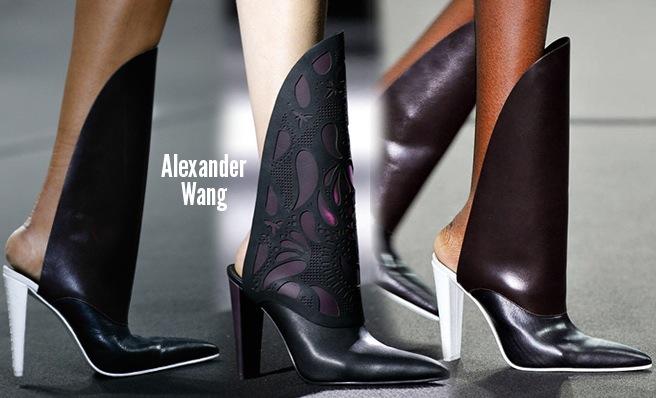 Alexander Wang scarpe catalogo autunno inverno 2014 2015