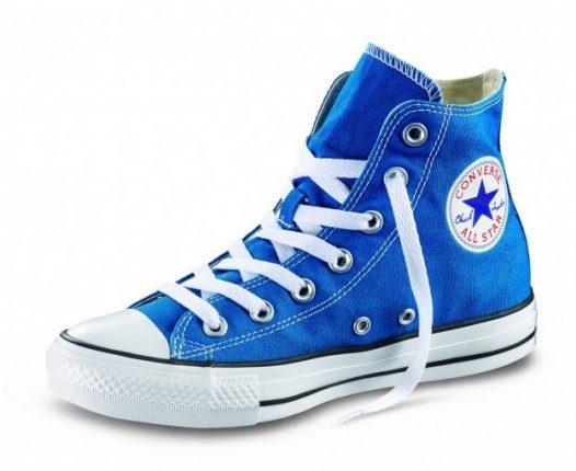 2converse all star blu