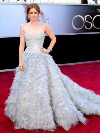 Amy Adams abito oscar 2013