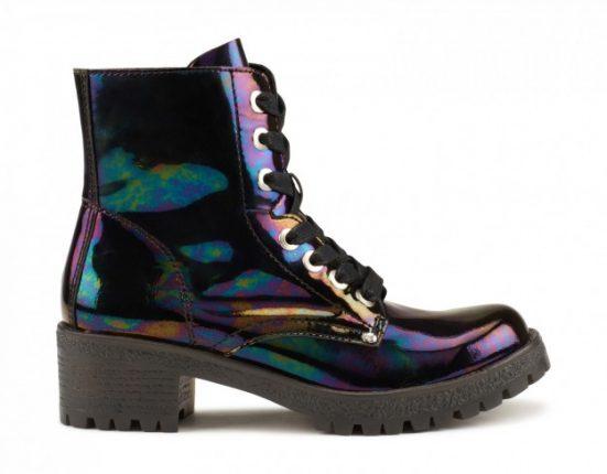 Anfibi in vernice Aldo scarpe autunno inverno 2015