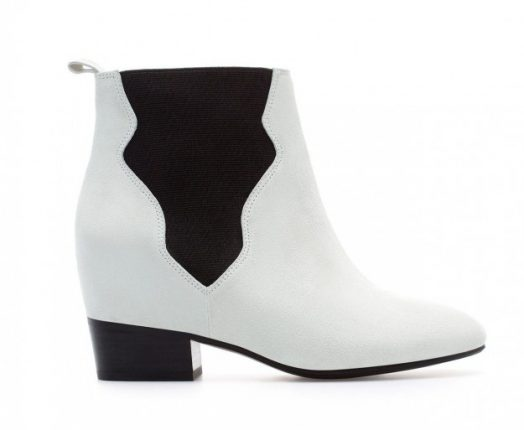 Ankle boot bicolor Zara autunno inverno 2013 2014