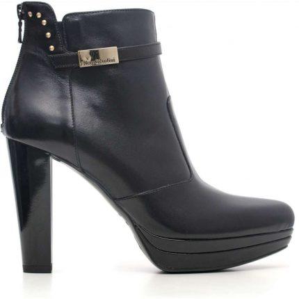 Ankle boot con tacco Nero Giardini autunno inverno 2017